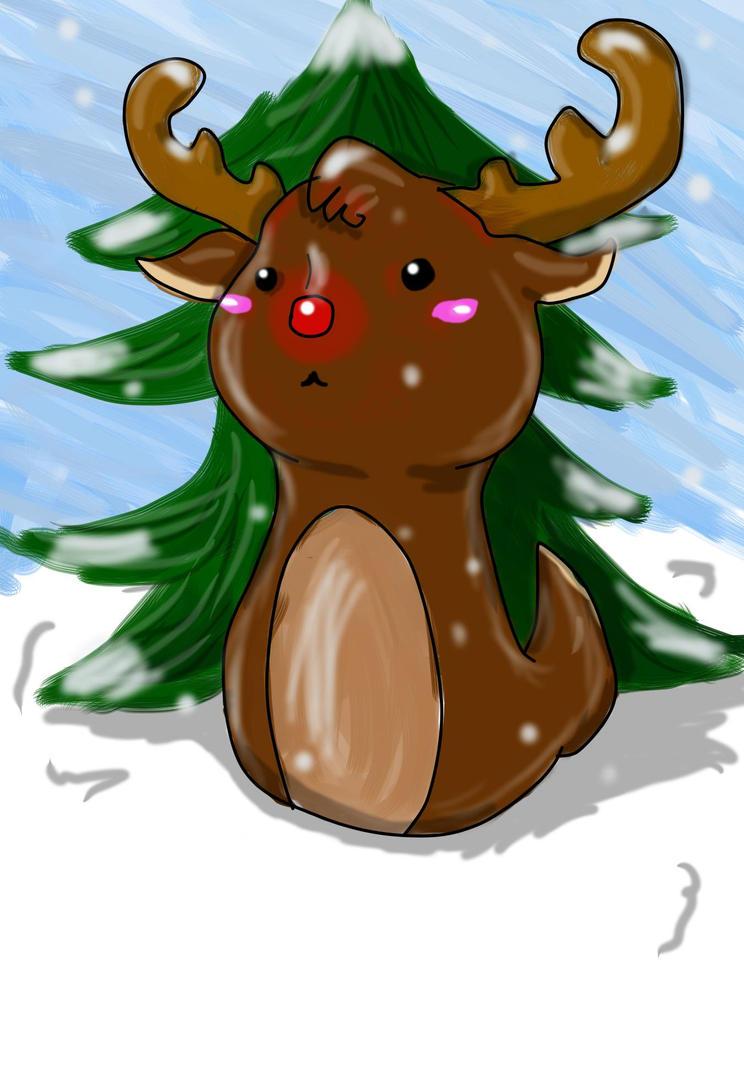 Reindeerrrr by MoonFals