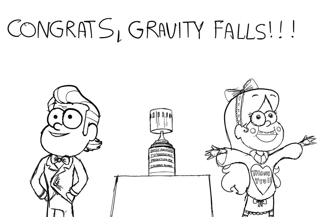 Gravity Falls Annie Awards WIP by LoveAnimals8 on DeviantArt