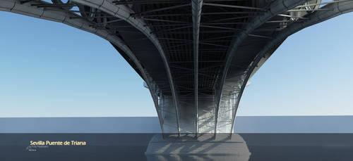 Sevilla Puente de Triana by Warl