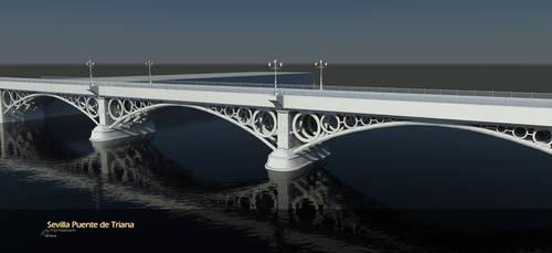 Sevilla Puente de Triana 2 by Warl