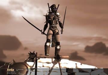 Xeila - Light Warrior by Warl