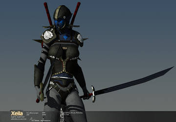 Xeila - Light Warrior II by Warl