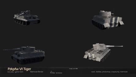 Pzkpfw VI Tiger by Warl