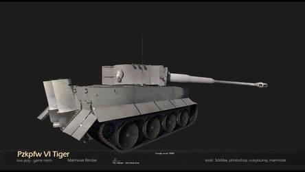 Tigertank Pzkpfw VI Tiger by Warl