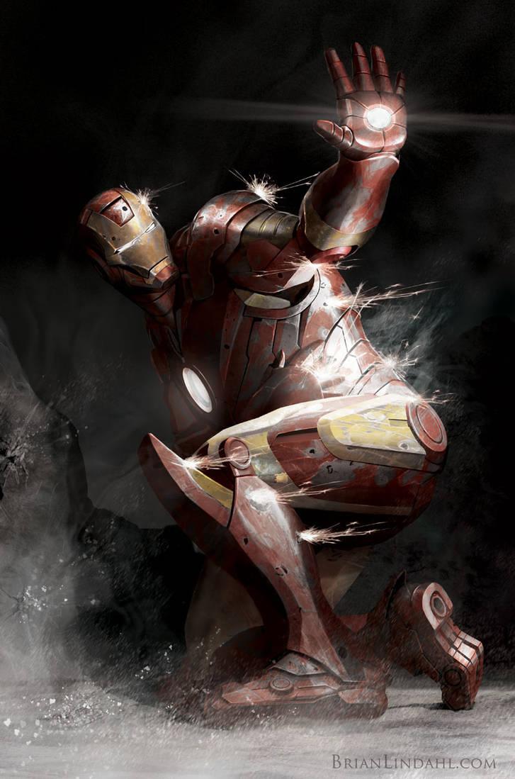 Iron Man Pinned Down