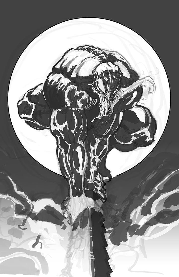 venom marvel comics fan art by brianlindahl on deviantart