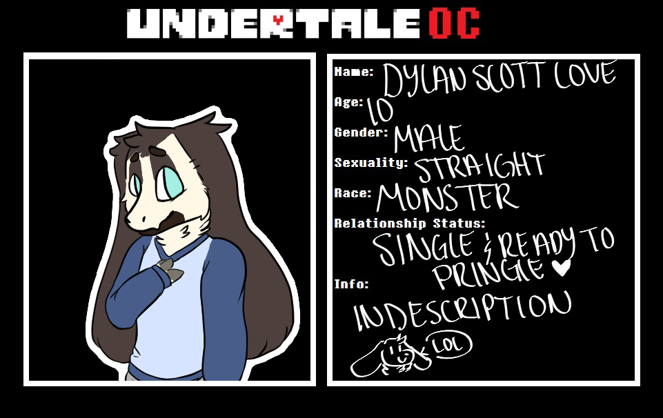 Dylan Ref by xPrinceTitanx