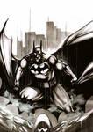 Batman watercolor 2