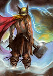 Thor-painting