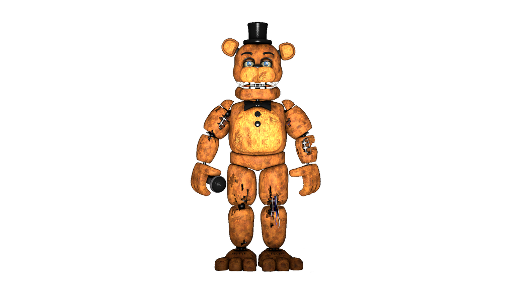 Fnaf 2 Withered Freddy png by Y-MMDere on DeviantArt