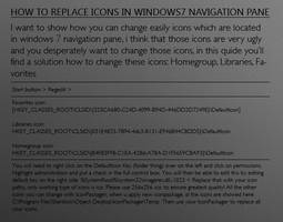 Windows 7 - Navigation Pane by X-Theory