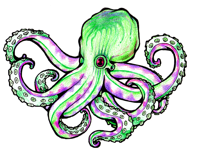 octopus by z0mbieparade