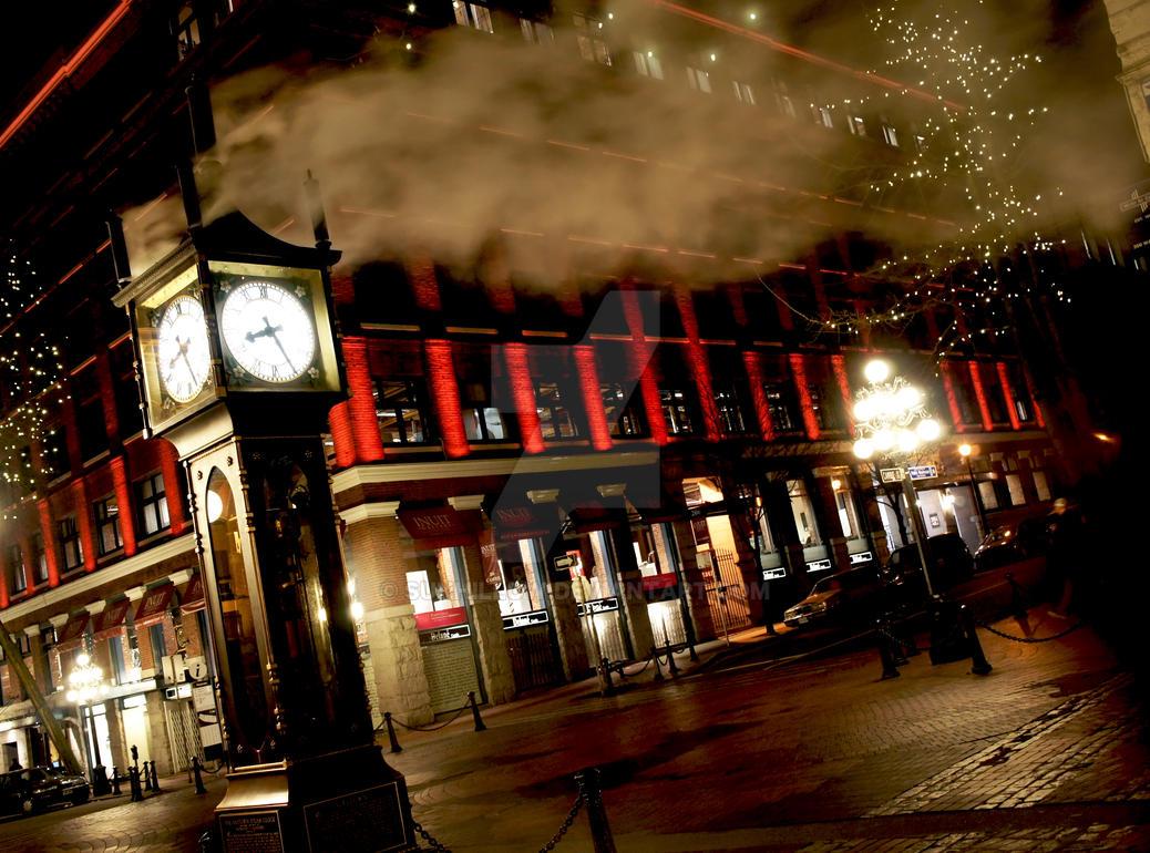 Gastown Steam Clock by Sunhillow