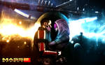 Mass Effect 2 Tali and Shepard