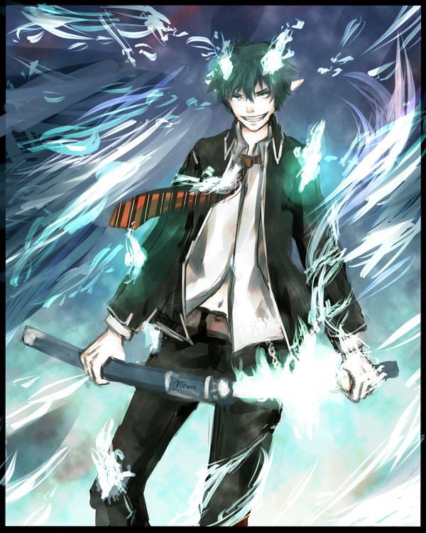 The Blue Exorcist by nimzea