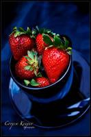 Strawberry Cup by MudosFonemas