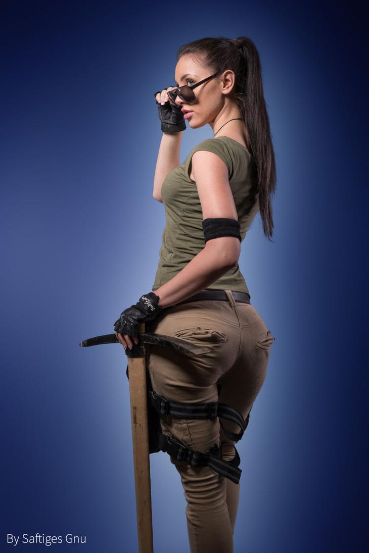 Sexy fortnite girl gets wreaked shadow op