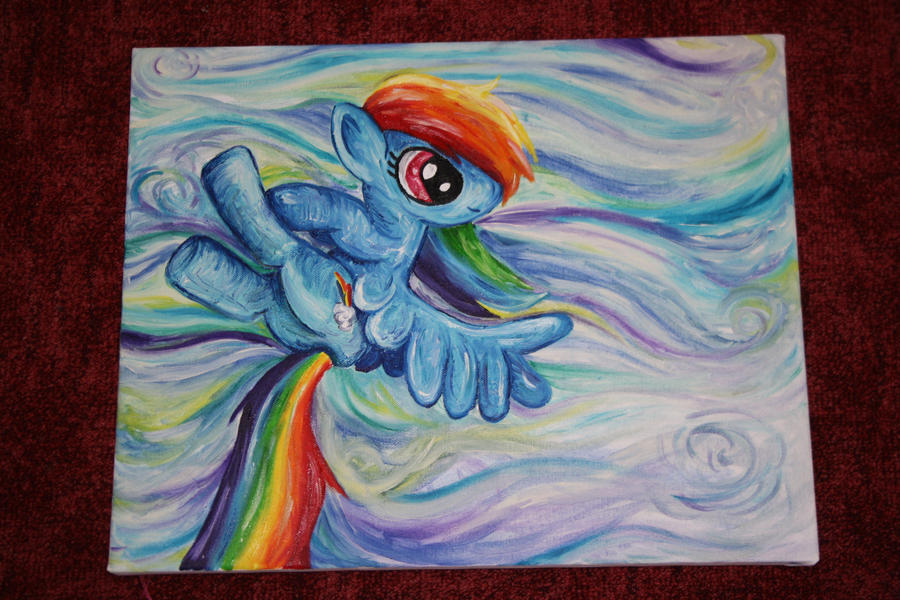 Rainbow Dash by pinkiepanda06