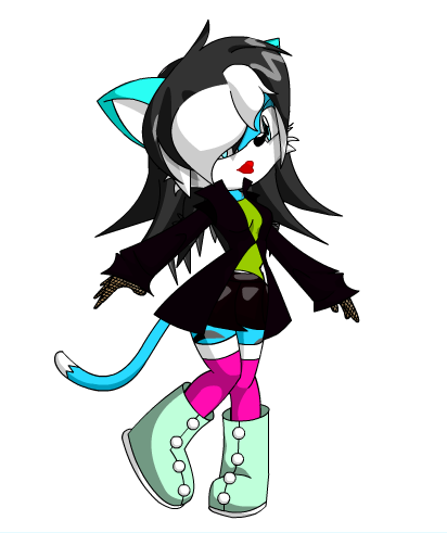 Lucille The Cat (Sonic OC) by Poison--Ivyy