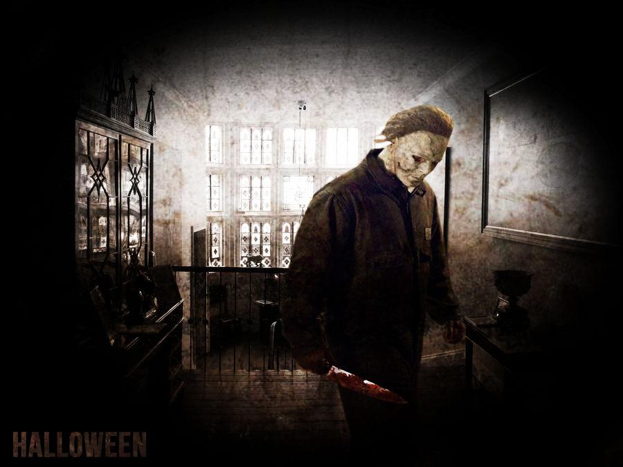 Halloween Michael Myers Background By Revolutionaryarts On Deviantart
