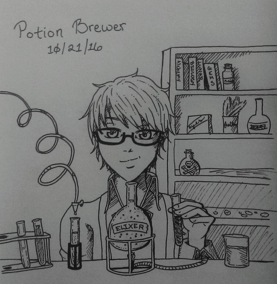 how to make a potion brewer