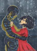 The Shape of Water by serenchi