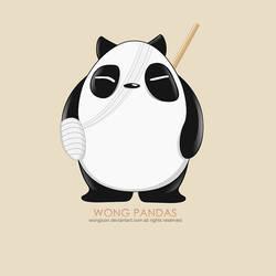 Panda by wongicon