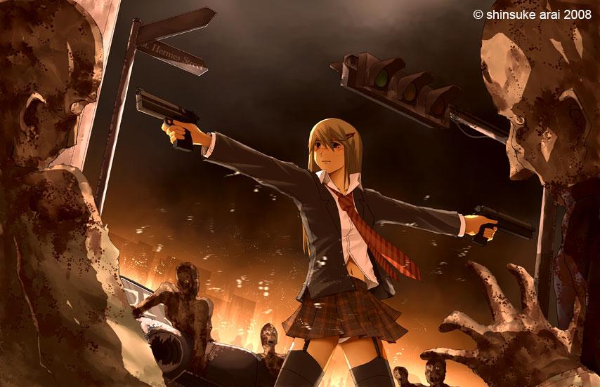 Highschool of the Dead Highschool_zombie_killers_by_dead_robot