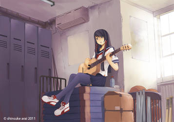 guitar by dead-robot
