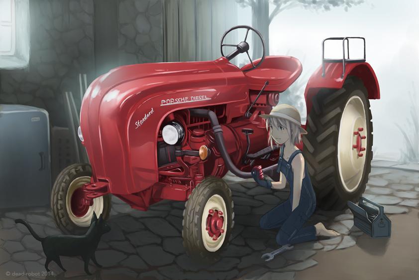 Farmgirl by dead-robot