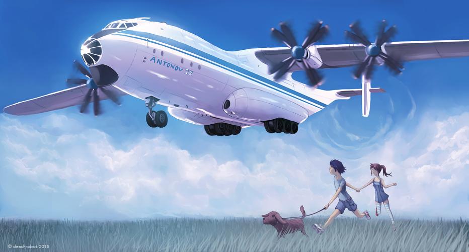 Antonov 22 by dead-robot
