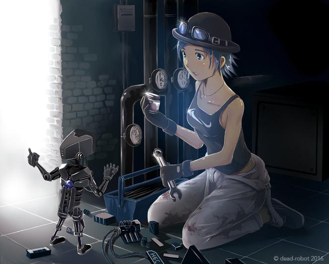 mechanic by dead-robot