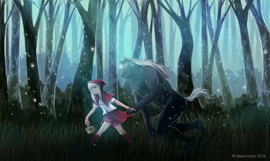 riding hood by dead-robot