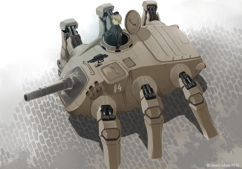 Tank by dead-robot