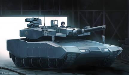 Bundeswehr Series Leopard2 A8 by dead-robot