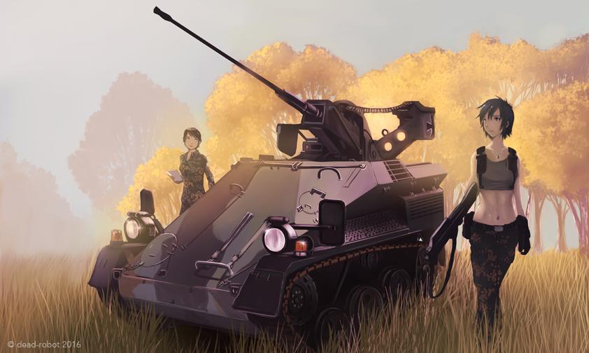 Bundeswehr Series Wiesel by dead-robot