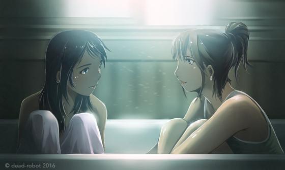 bathtub by dead-robot