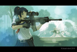 Rifle by dead-robot