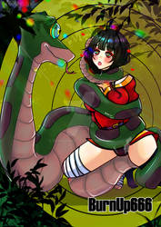 kaa and Megumin YCH hypnosis