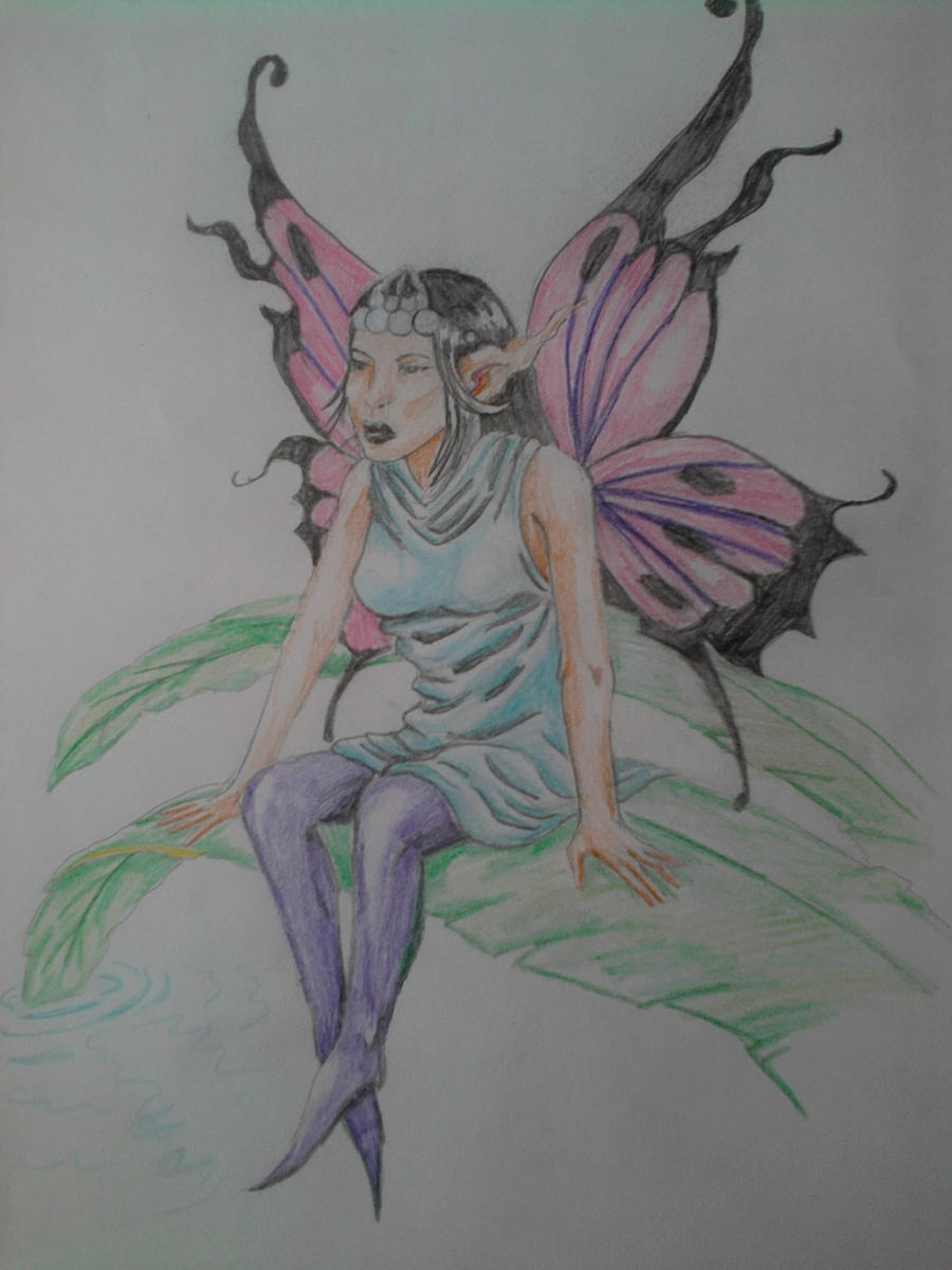lil fairy tattoo design by