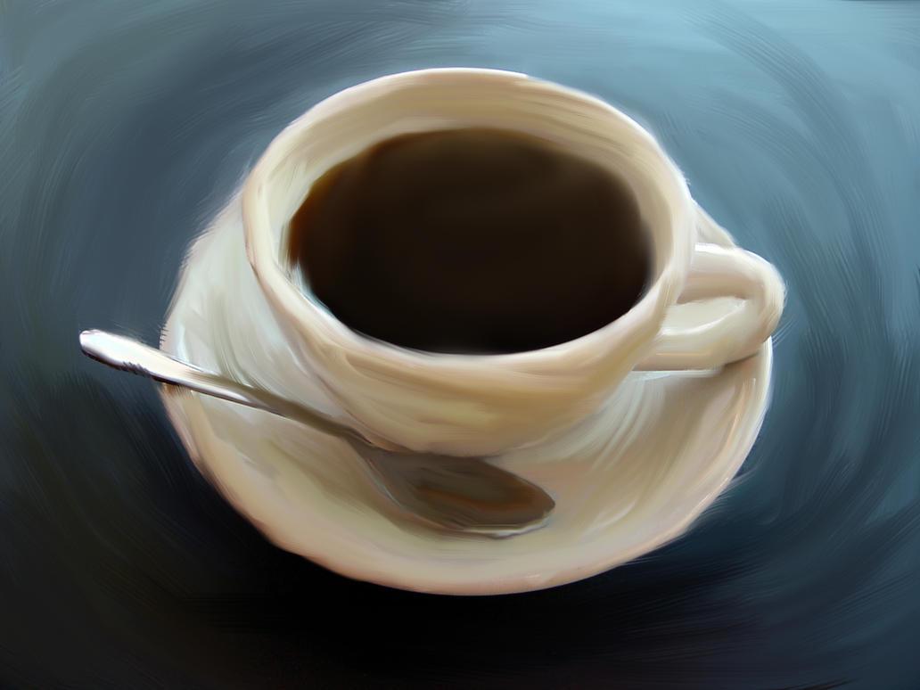 Coffee Acrylic Painting