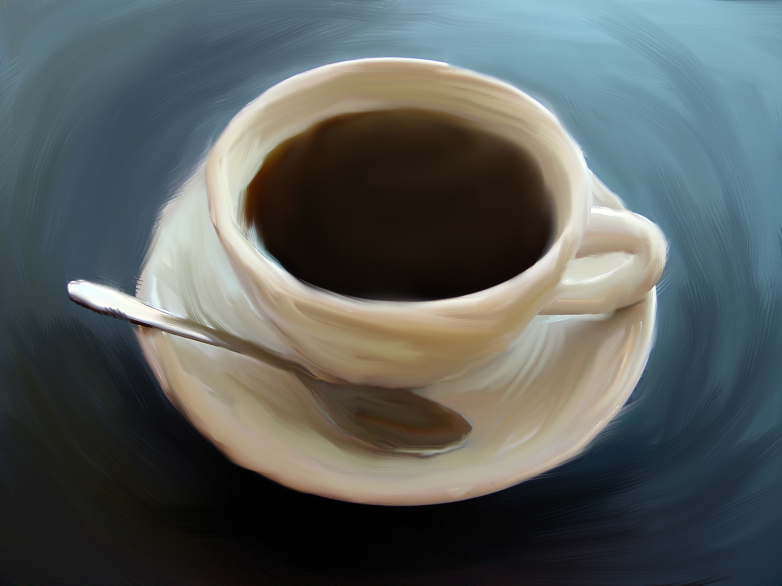 Coffee painting by veepvoopvop on deviantart for Coffee watercolor