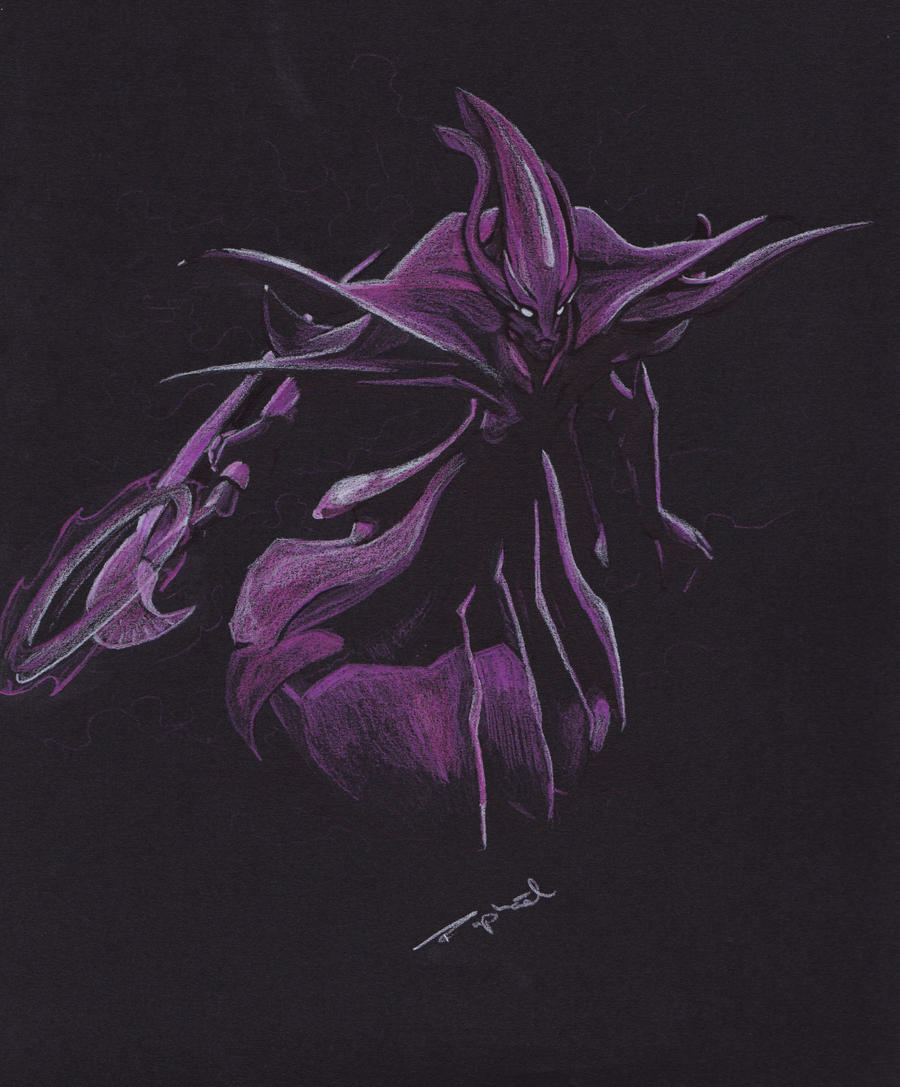 dota 2 spectre by greenmanch on deviantart
