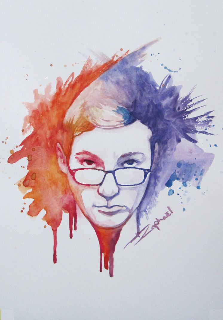Self-portrait 2 by GreenManCH