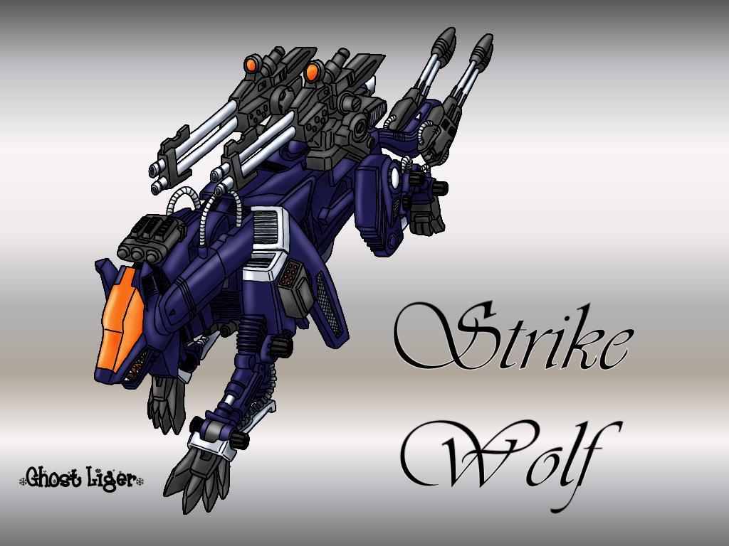 Strike Wolf Artwork by GhostLiger