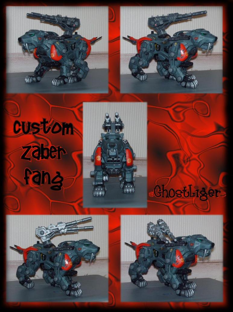 Custom Zaber Fang by GhostLiger