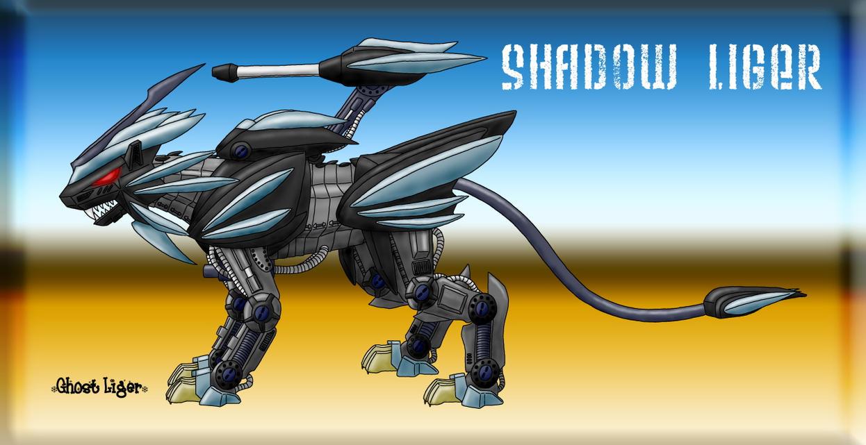 Shadow Liger redo by GhostLiger