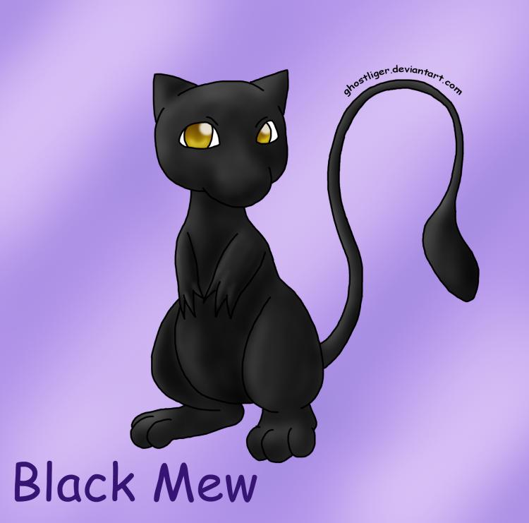 Black Mew: Hitokiri Request by GhostLiger