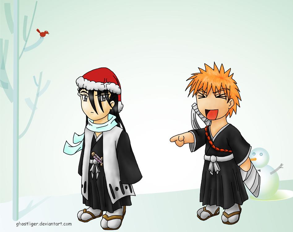 Christmas gift for Hitokiri by GhostLiger
