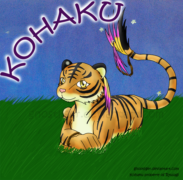 Chibi Kohaku - Art Trade by GhostLiger